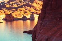 Het meer van Powell Stock Foto's