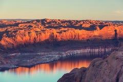 Het meer van Powell Royalty-vrije Stock Foto's