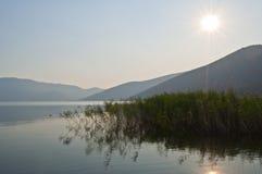 Het Meer van Prespa, Griekenland royalty-vrije stock foto
