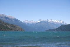 Het Meer van Puelo, Patagonië Argentinië royalty-vrije stock afbeelding