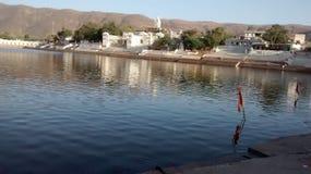 Het Meer van Pushkar Stock Afbeeldingen