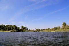 In het meer van het Regionale Park van het Oosten van Gr Dorado Stock Afbeeldingen