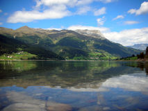 Het meer van Resia Stock Fotografie