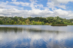 Het meer van Saobernardo Royalty-vrije Stock Foto's