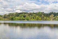 Het meer van Saobernardo Stock Foto