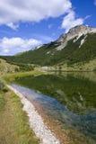 Het meer van Satorsko - in de westelijke gebieden van Bosnia royalty-vrije stock fotografie