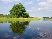 Het meer van Seliger Royalty-vrije Stock Afbeeldingen