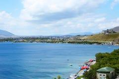 Het meer van Sevan Stock Afbeeldingen