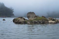 Het meer van Situpatenggang, Ciewedey, Zuiden van Bandung stock afbeelding