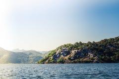 Het meer van Skadar montenegro royalty-vrije stock afbeelding