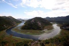 Het meer van Skadar - Montenegro Royalty-vrije Stock Foto's