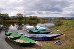Het meer van Skadar - Montenegro Royalty-vrije Stock Afbeeldingen