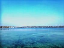 Het meer van Starnberg stock afbeelding