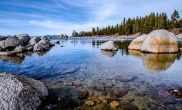 Het meer van Tahoe stock foto