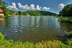 Het meer van Tajchnova bana stock fotografie