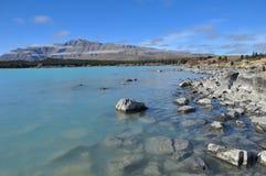 Het meer van Tekapo Stock Foto's