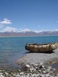 Het Meer van Tibet - Namtso- Stock Foto