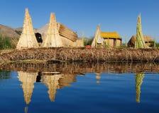 Het meer van Titicaca Royalty-vrije Stock Afbeeldingen