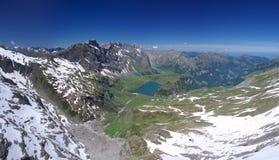Het meer van Trubsee stock foto