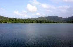 Het Meer van Usgaon Stock Foto