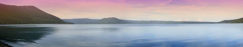 Het meer van Vico Stock Afbeeldingen