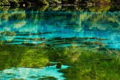 Het meer van Wuhua Stock Foto's