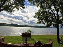 Het meer van Zimbabwe royalty-vrije stock afbeelding