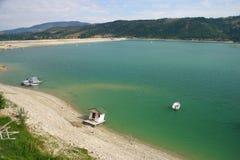 Het meer van Zlatar Stock Foto