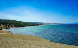 Het meerbaai van Baikal Stock Afbeeldingen