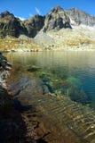 Het meerbank van de berg Royalty-vrije Stock Fotografie