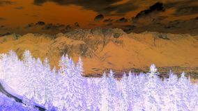 Het Meerberg van Innsbruck Tirol Royalty-vrije Stock Foto