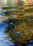 Het meerbezinning van de herfst Royalty-vrije Stock Fotografie