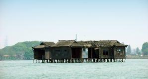 Het meertoerisme van het Wuhanoosten in China stock fotografie