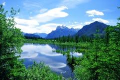Het meerUitzicht van de berg Royalty-vrije Stock Foto