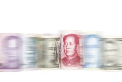 HET MEESLEPEN AAN CHINA Stock Afbeeldingen