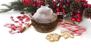 het meest cookiest thee stock foto
