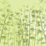 Het meest forrest bamboe royalty-vrije illustratie