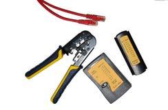 Het meetapparaat en de tang van de kabel Royalty-vrije Stock Afbeelding