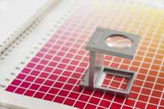 Het meetapparaat van het linnen Stock Foto