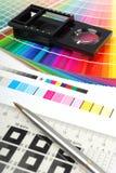 Het meetapparaat van het linnen Royalty-vrije Stock Fotografie