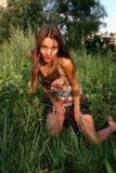 Het meisje stock foto