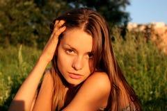 Het meisje royalty-vrije stock foto