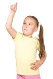 Het meisje benadrukt Royalty-vrije Stock Fotografie