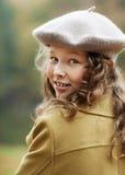 Het meisje dat van de tiener zich omdraait royalty-vrije stock foto