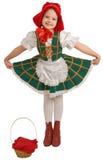 Het meisje - de Kleine Rode Berijdende Kap. royalty-vrije stock afbeeldingen