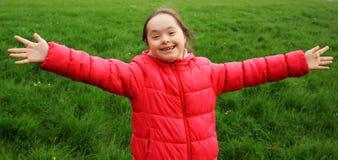 Het meisje heeft pret Royalty-vrije Stock Foto