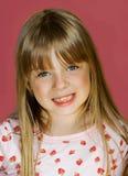 Het meisje maakt Tanden los Royalty-vrije Stock Foto's