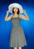 Het meisje in stijl 30 Royalty-vrije Stock Foto