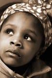 Het Meisje van Afrika Stock Afbeelding
