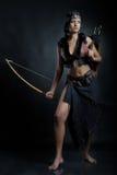 Het meisje van Amazonië Royalty-vrije Stock Foto's
